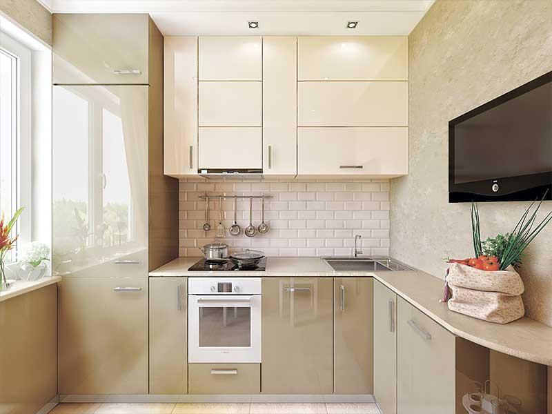 Кухня угловая AK287