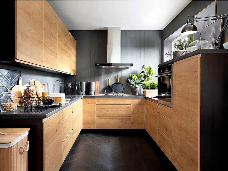 Кухня п-образная PL302