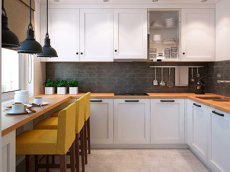 Кухня п-образная MD304