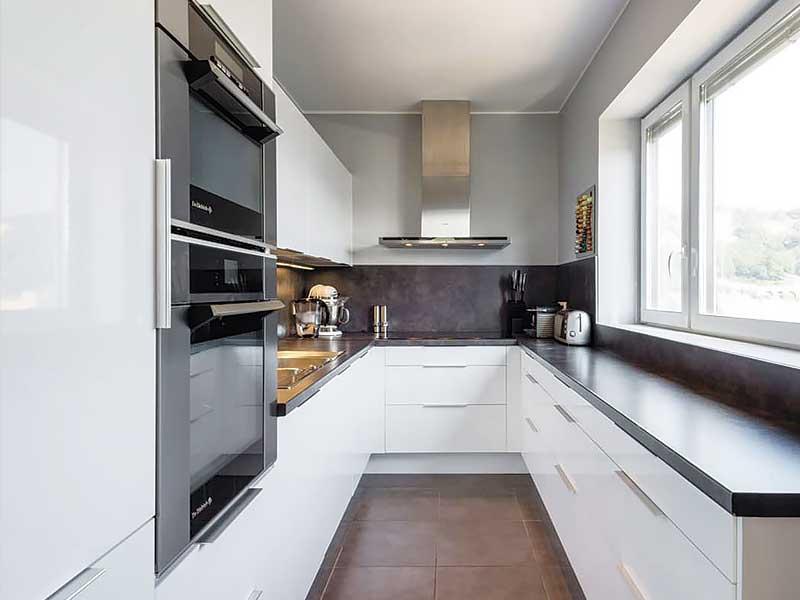 Кухня п-образная MD286