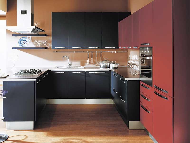 Кухня п-образная AK275