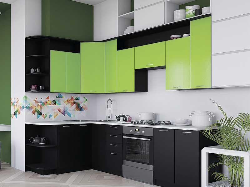 Кухня угловая LD286