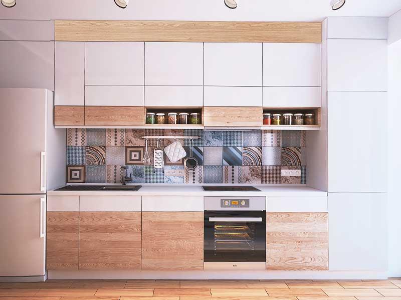 Кухня прямая LD305