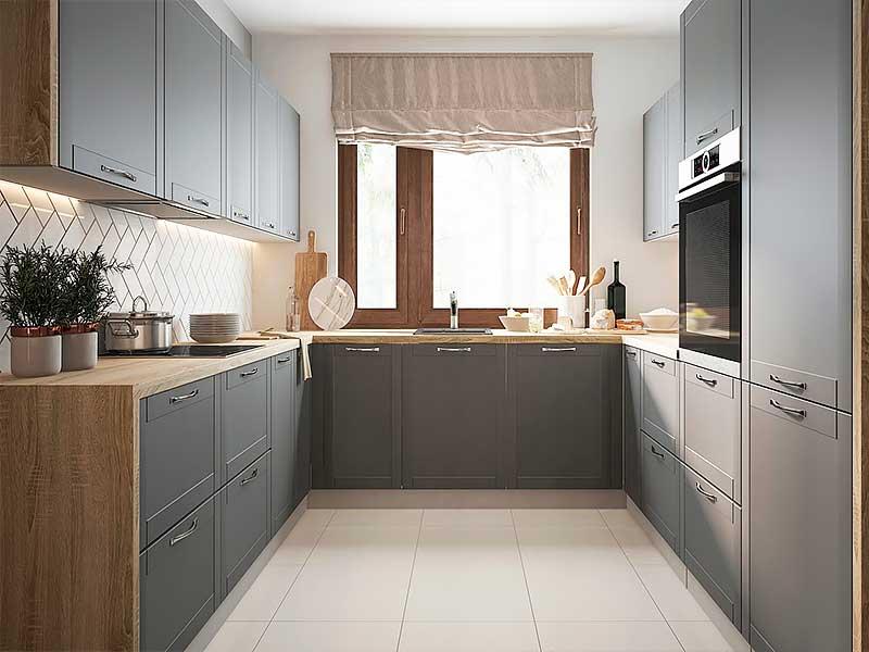 Кухня п-образная MD322