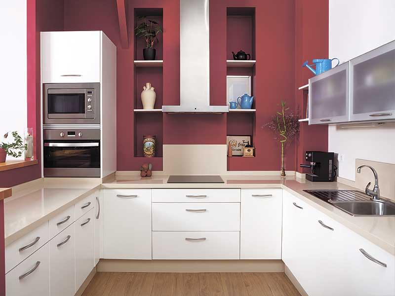 Кухня п-образная AK287